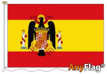 SPAIN 1945 1977  ANYFLAG RANGE - VARIOUS SIZES
